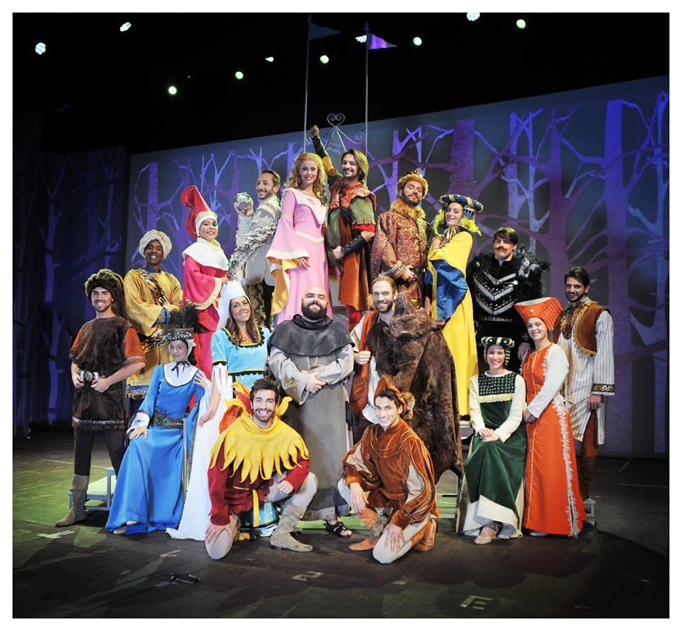 ROBIN 1 - Robin Hood. Manuel Frattini superstar al Teatro Nuovo di Milano
