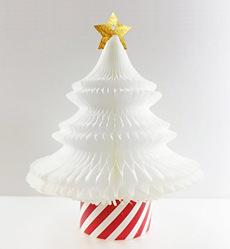 handmade honeycomb pop up cartolina di natale ornamentsnowy tree 1 pezzo - Come augurare buone feste nel business senza fare spam ed entrare nelle black list di mail bannate
