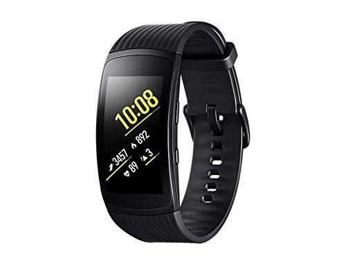 samsung gear fit2 pro smartband nero large gps impermeabile 5 atm - Galaxy Gear il nuovo smartwatch di Samsung che batte Iwatch di Apple: ecco le prime immagini dello schermo