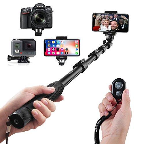 selfie stick arespark bastone selfie con bluetooth wireless remote 1 - Le migliori foto su instagram le realizza La Nasa che sbarca con le immagini più incredibili