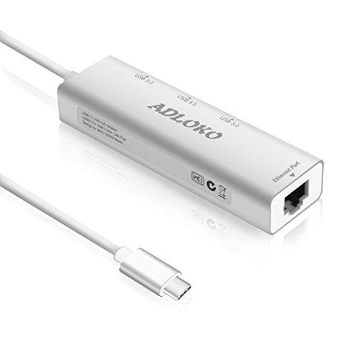 usb tipo c hub usb c a gigabit ethernet adapter adloko 3port usb 30hub - Nuovo Chromebook Pixel, più potente e con USB Type-C