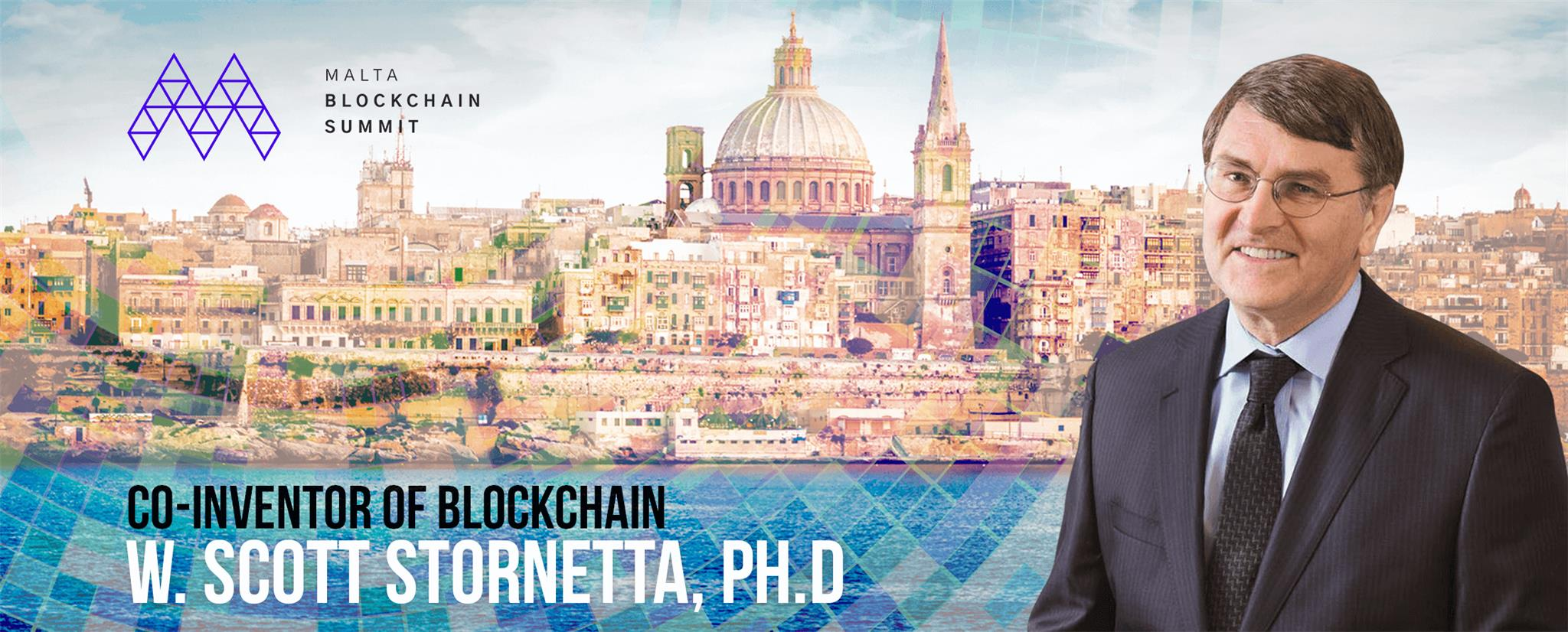 """Vertice Blockchain a Malta che porta il padre fondatore di Blockchain - Vertice Blockchain a Malta con la presenza del """"padre fondatore"""" di Blockchain nell'isola Blockchain"""