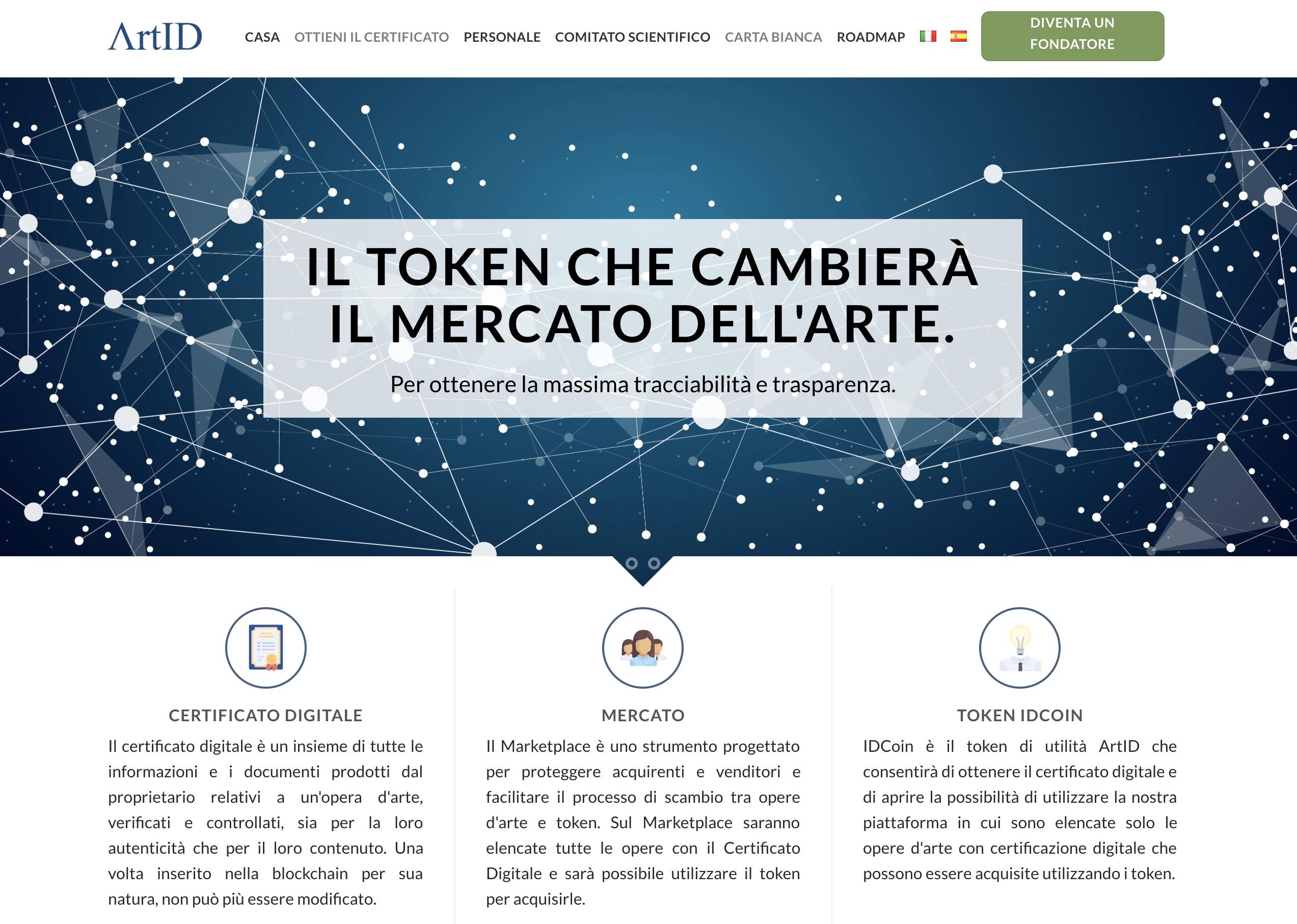 ArtID il certificato digitale per arte sulla blockchain oggi una realta tangibile - ArtID: il certificato digitale per l'arte sulla blockchain oggi è una realtà tangibile