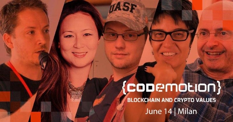 La Blockchain spiegata dai migliori il 14 giugno a Milano - La Blockchain spiegata dai migliori il 14 giugno a Milano