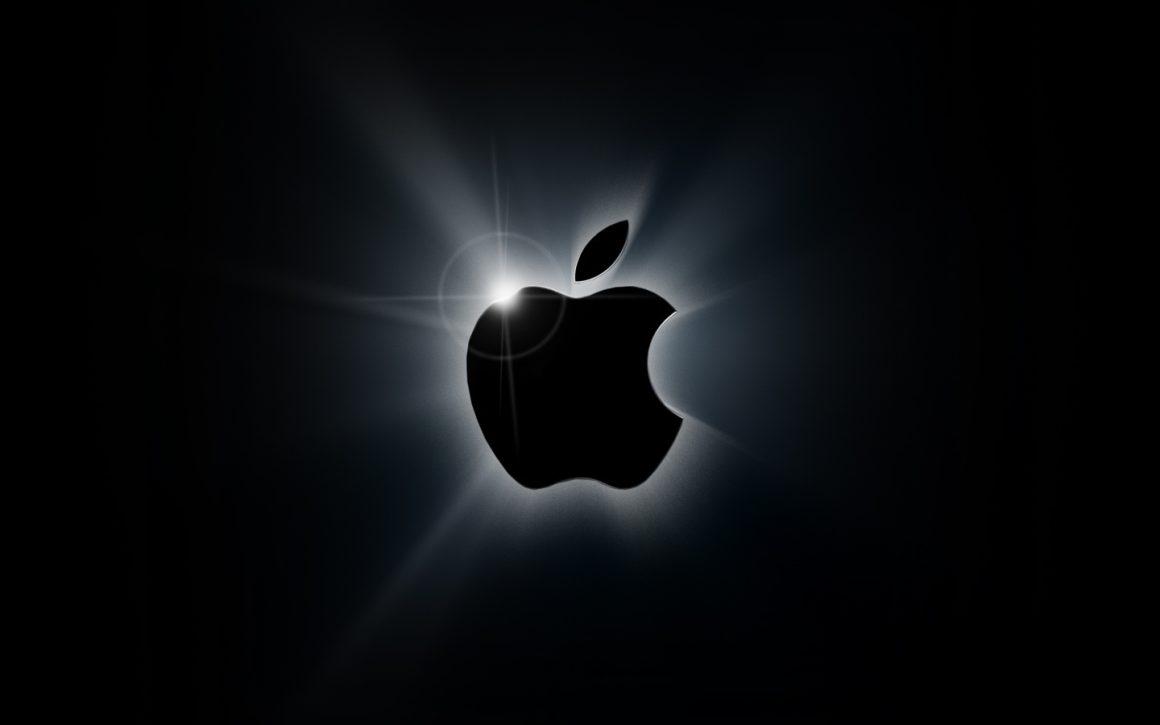 apple black logo wallpaper 1160x725 - Le nuove linee guida di Apple danno una spallata al Cryptomining