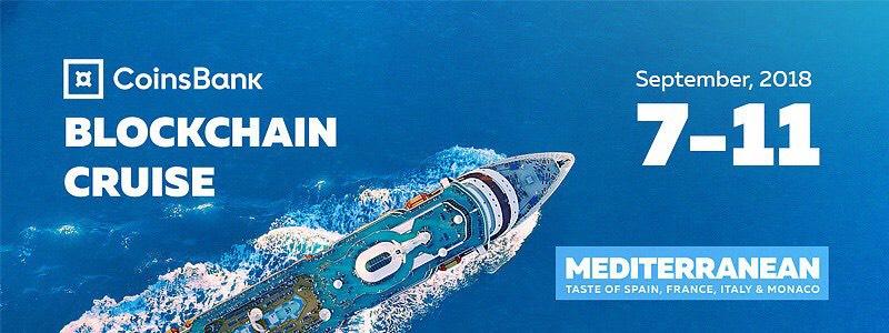 Blockchain Cruise 2500 rappresentanti dellindustria crypto navigano attraverso il Mediterraneo - Coinsbank Blockchain Cruise 2019: le interviste realizzate da Michele Ficara Special Guest