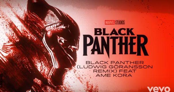 black - Black Panther: Wakanda Remixed Digital EP