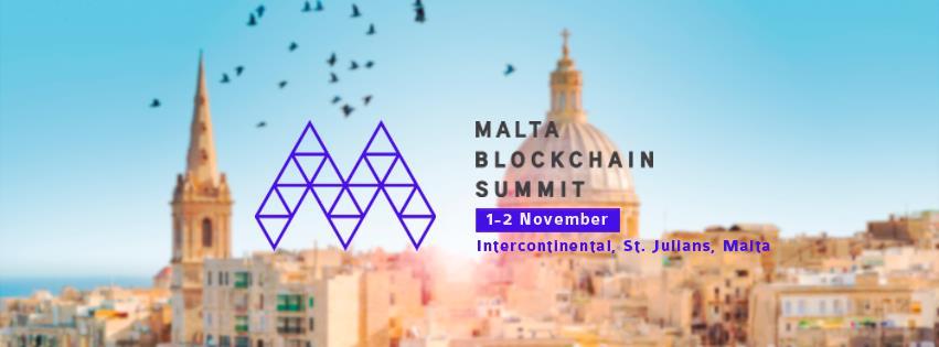Il vertice di Blockchain a Malta si avvicina - Il vertice di Blockchain a Malta si avvicina