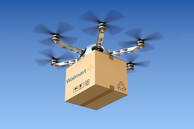 Walmart usa la Blockchain per brevettare droni di consegna automatizzati - Walmart usa la Blockchain per brevettare droni di consegna automatizzati