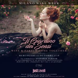 giardino 300x300 - La Milano Wine Week debutta al Just Cavalli mercoledì 10 ottobre