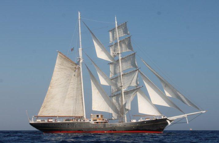 nave italia - Il brigantino Nave Italia promuove cultura del mare e progetti educativi