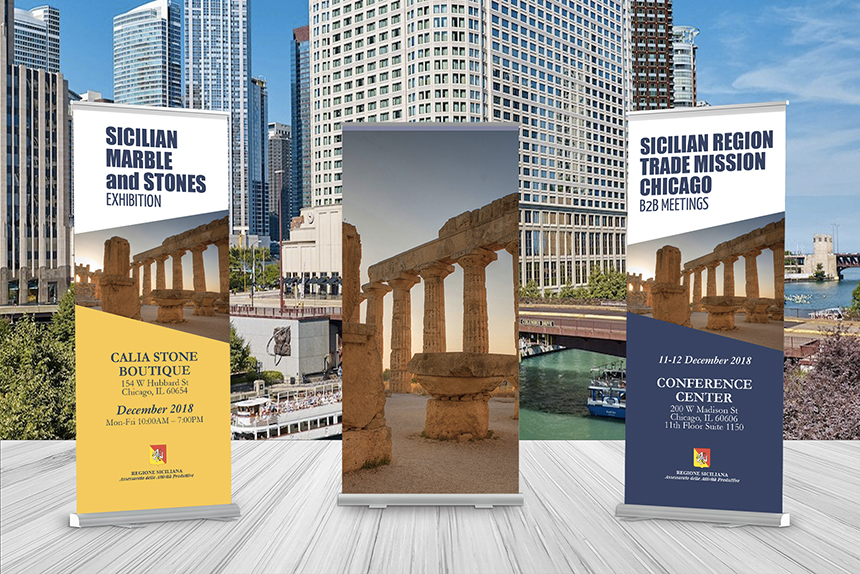 chicago window - Imprese siciliane alla conquista dell'America. Missione commerciale e mostra a Chicago