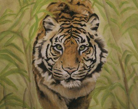 tigre - Mostra Personale dell'artista Francesca Provetti al Lotto V&A della Fabbrica del Vapore di Milano