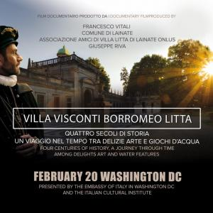 litta 300x300 - A Washington il Docu-Film su Villa Visconti Borromeo Litta di Lainate