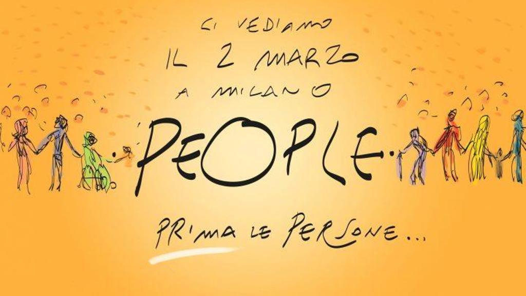 people - People - Prima le Persone. Corteo a Milano sabato 2 marzo