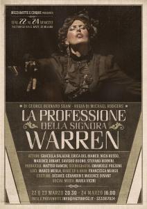 """warr 212x300 - """"La professione della signora Warren"""" al teatro """"fACTORy 32"""" di Milano"""