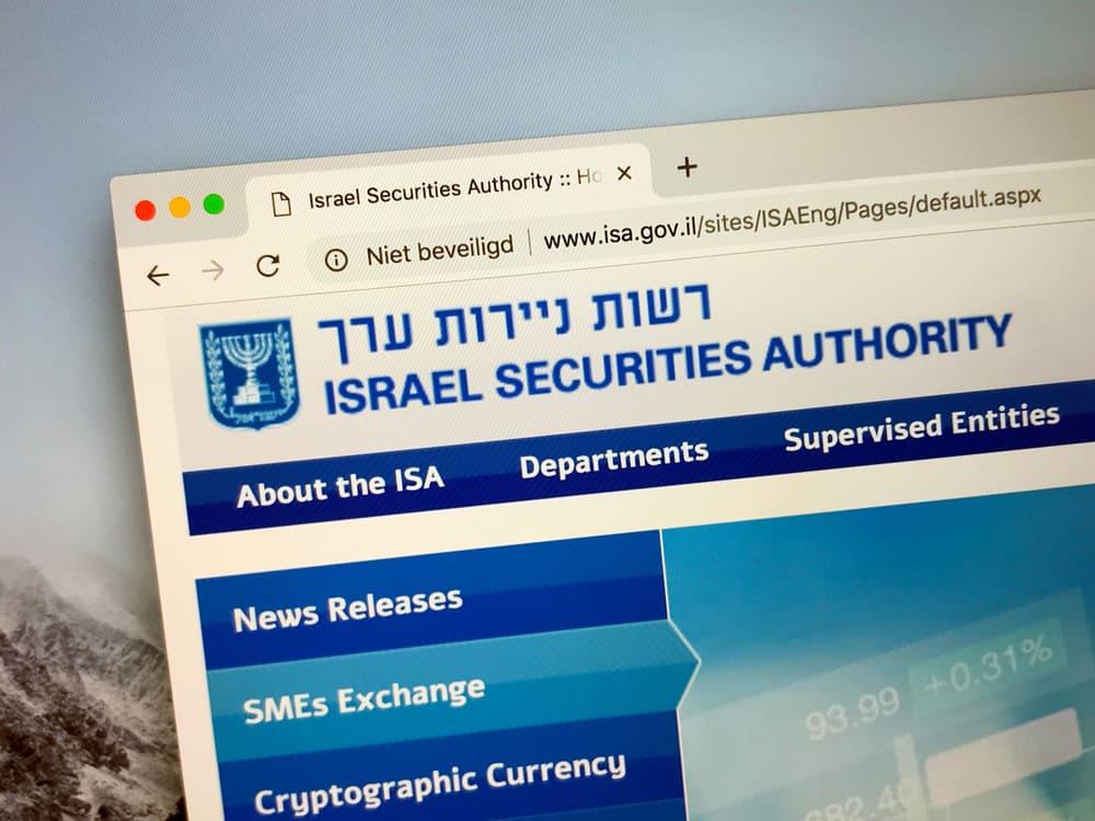 il securities regulator israeliano ha un potenziale potenziale nel trading di criptovalute e offerte di token di sicurezza - Il Securities Regulator israeliano ha un potenziale potenziale nel trading di criptovalute e offerte di token di sicurezza