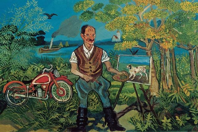 "liga - Antonio Ligabue, il ""Van Gogh svizzero"""