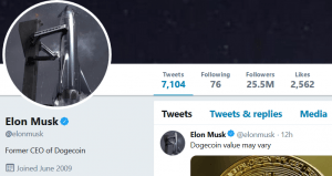move over jack dorsey elon musk e la nuova superstar di crypto - Move Over, Jack Dorsey - Elon Musk è la nuova superstar di Crypto