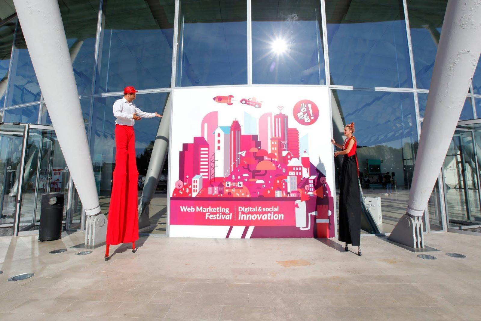 Palacongressi Esterna - Web Marketing Festival 2019: ecco l'anteprima del programma del più grande evento sull'innovazione digitale e sociale