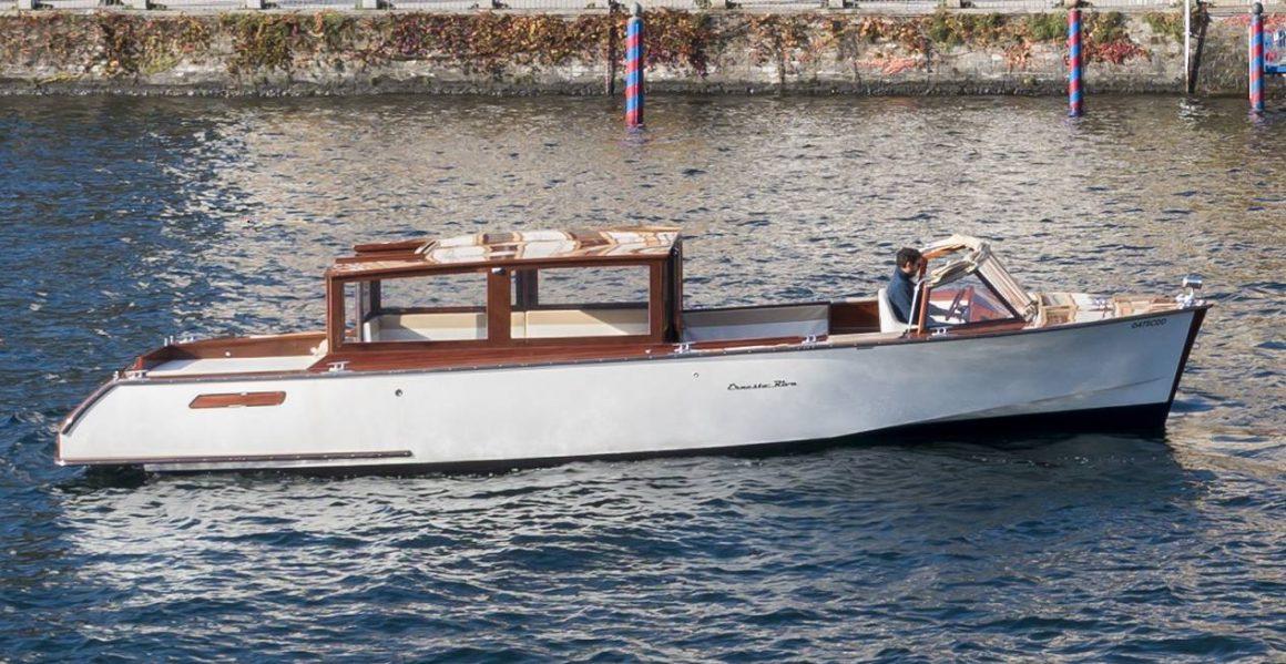 vaporina 1160x599 - Cantiere Ernesto Riva. Scende in acqua la vaporina Elettra
