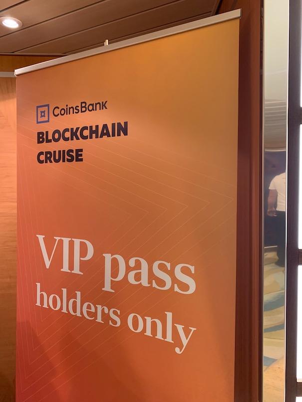 La crociera Coinsbank Blockchain del 2019 apre le porte della nave piu grande del mondo alle cryptovaluteIMG 5282 - Coinsbank Blockchain Cruise 2019: le interviste realizzate da Michele Ficara Special Guest