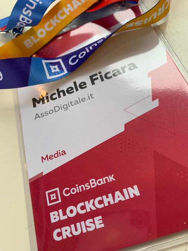 La crociera Coinsbank Blockchain del 2019 apre le porte della nave piu grande del mondo alle cryptovaluteIMG 5286 - Coinsbank Blockchain Cruise 2019: le interviste realizzate da Michele Ficara Special Guest