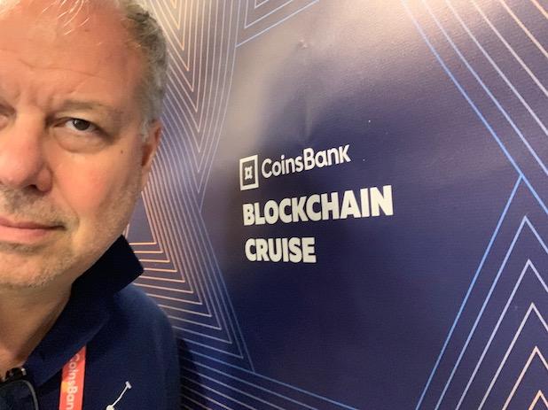 La crociera Coinsbank Blockchain del 2019 apre le porte della nave piu grande del mondo alle cryptovaluteIMG 5303 - Coinsbank Blockchain Cruise 2019: le interviste realizzate da Michele Ficara Special Guest