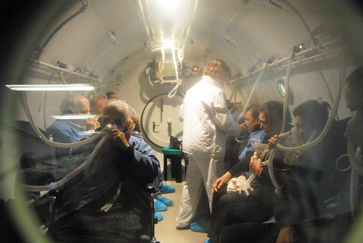 interno camera iperbarica 1160x777 - A Chioggia si parla di Emergenze e Ossigenoterapia Iperbarica