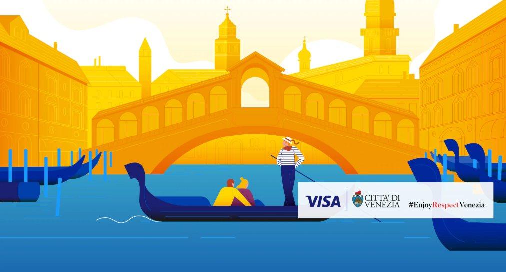 venezia - VISA: sponsor di Venezia con un programma unico al mondo