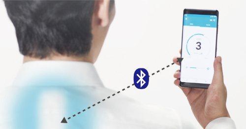 app - Reon Pocket. Il condizionatore che pesa 85 grammi e sta nella T-shirt