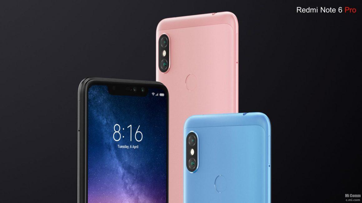 xiaomi redmi note 6 pro 1 1160x653 - I migliori Smartphone Xiaomi su Amazon