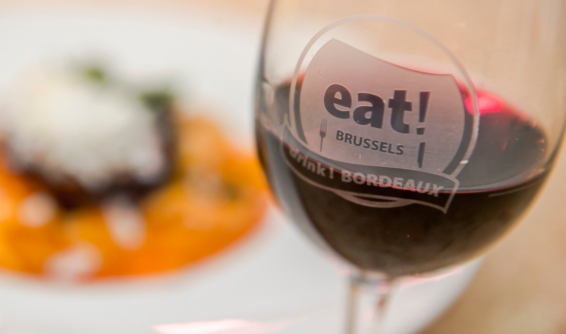 EAT - eat! BRUSSELS, drink! BORDEAUX! Weekend gourmet a Bruxelles