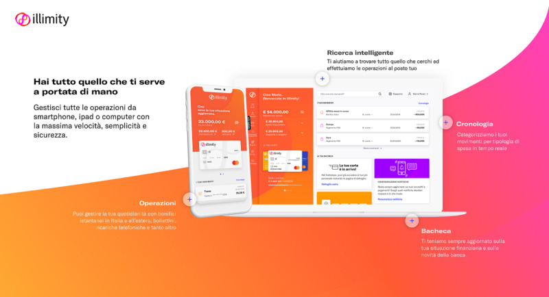 Banca Digitale 800x434 - AL VIA ILLIMITYBANK.COM LA NUOVA BANCA DIRETTA