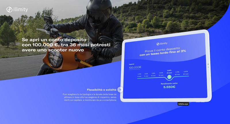 Conto Deposito 800x434 - AL VIA ILLIMITYBANK.COM LA NUOVA BANCA DIRETTA