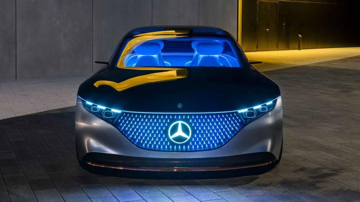 Il nuovo concetto di auto elettrica di lusso passa da Vision EQS di Mercedes Benz 1160x653 - Il nuovo concetto di auto elettrica di lusso passa da Vision EQS di Mercedes-Benz