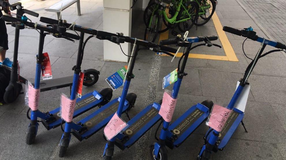 due societa di condivisione di e scooter multate per operare senza patente cna - Nuove multe: sanzionate le società che gestiscono le flotte di e-scooter