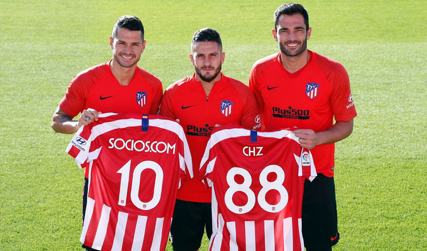 la squadra di calcio atletico madrid presenta il token fan blockchain ledger insights - Atlético Madrid lancia il Fan Token sulla blockchain grazie a Socios.com