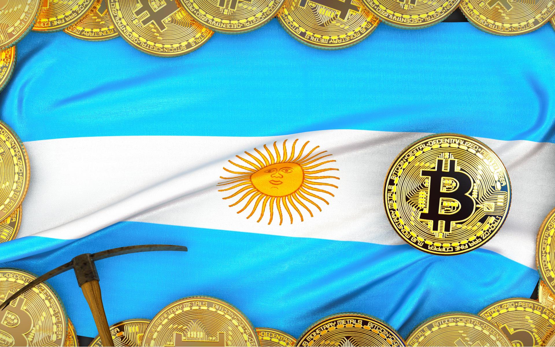 Attività bitcoin argentina in aumento