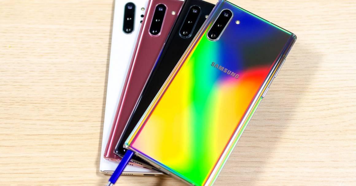 samsung raggiunge lapice di punta con un galaxy note 10 the verge 1160x607 - Samsung in grave crisi cerca il riscatto con il rilascio di uno smartphone blockchain: nuovo buco nell'acqua?