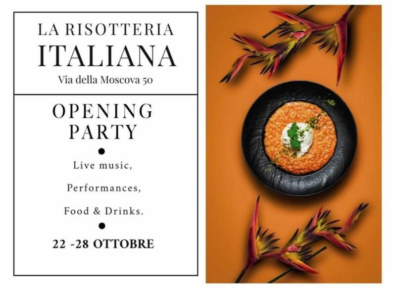 RIS2 800x584 - Milano. La Risotteria Italiana di via Moscova 50 inaugura dal 22 al 28 ottobre