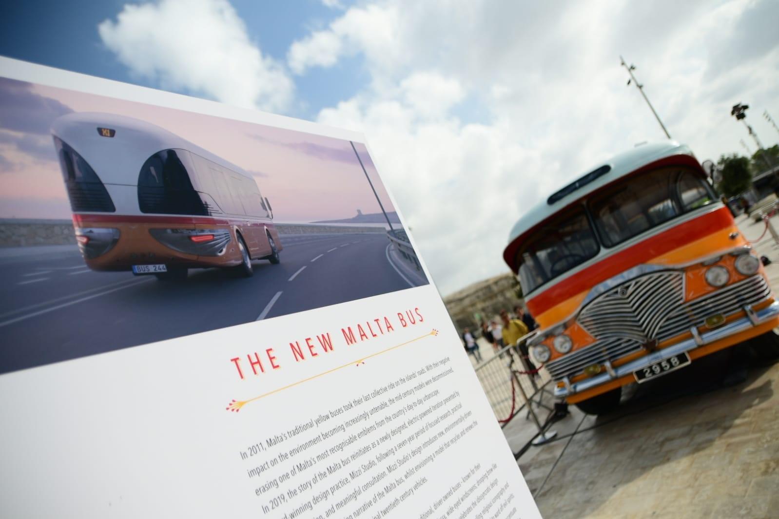 e questo lautobus maltese del futuro times of malta - A Malta si svela l'autobus del futuro