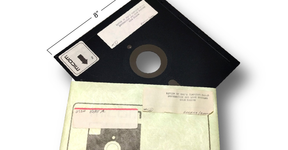 le forze nucleari americane finalmente lasciano cadere lantico sistema di floppy disk da 8 pollici - Le forze armate nucleari americane abbandoneranno l'antico sistema di floppy disk