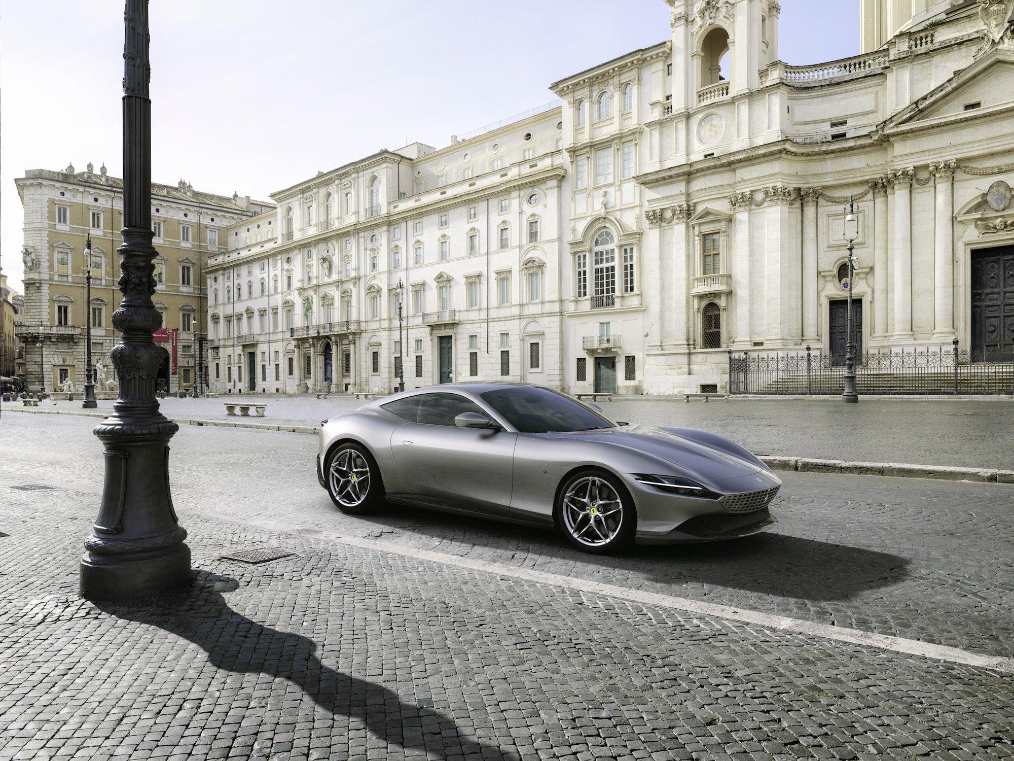 la ferrari ha appena presentato il suo nuovo coupe roma ed e uno storditore gara 1 - La Ferrari ha appena presentato il suo nuovo coupé Roma