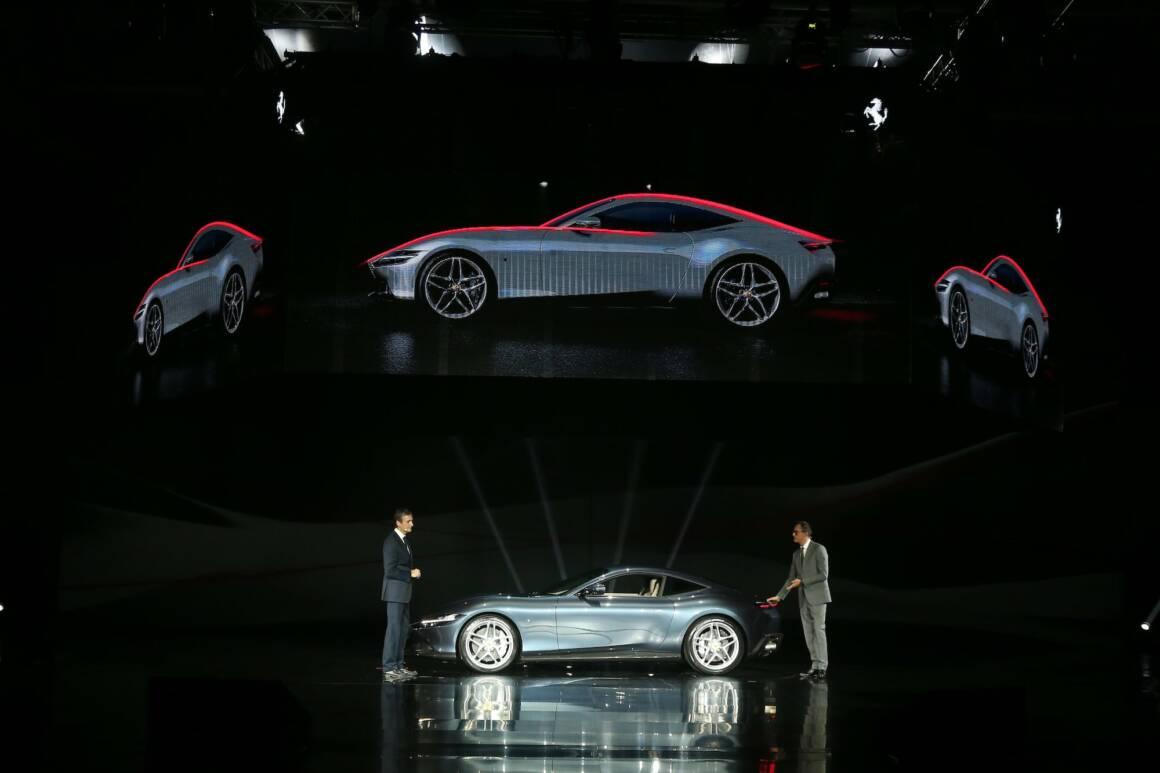 la ferrari ha appena presentato il suo nuovo coupe roma ed e uno storditore gara 1160x773 - La Ferrari ha appena presentato il suo nuovo coupé Roma