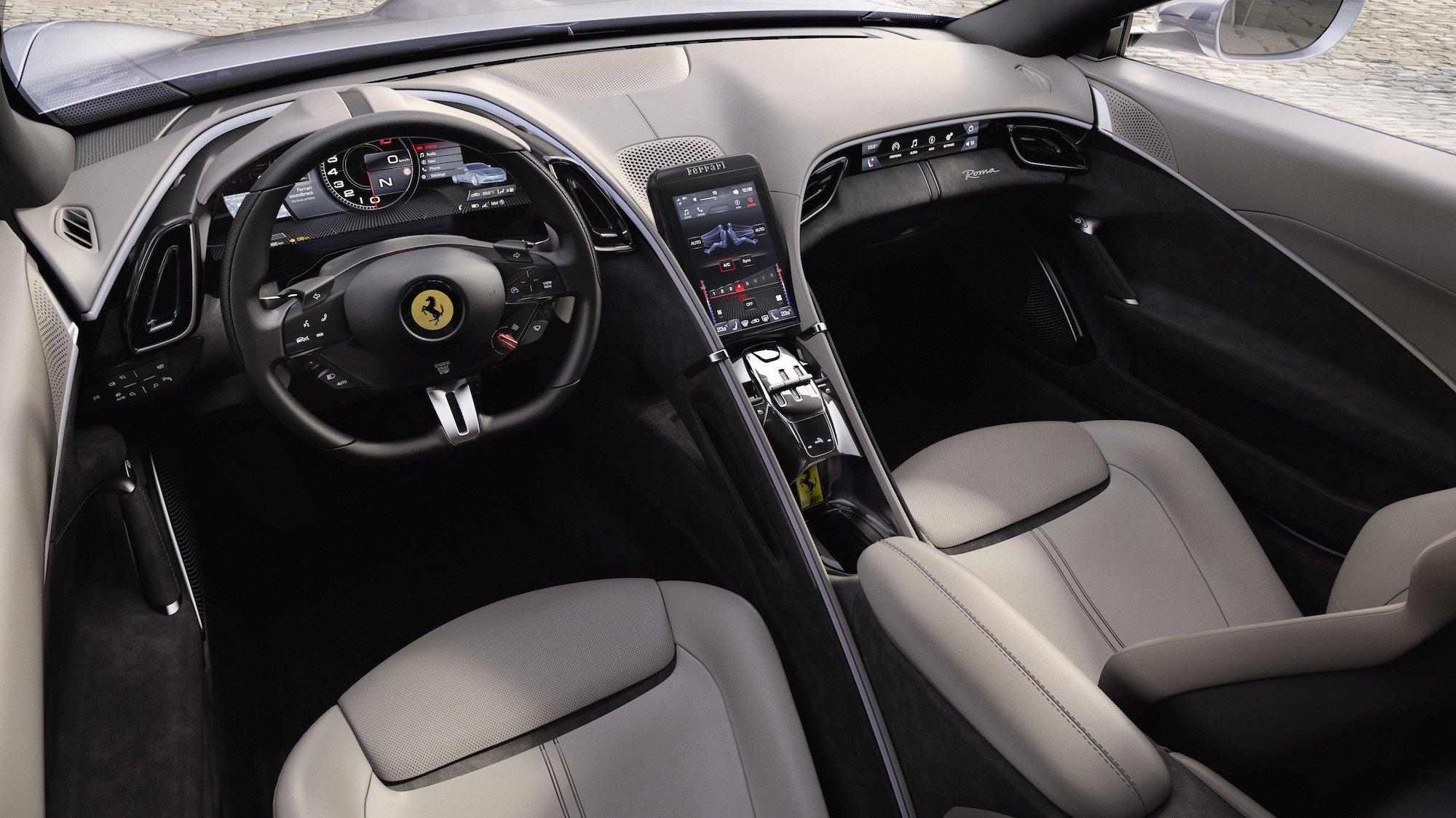 la ferrari ha appena presentato il suo nuovo coupe roma ed e uno storditore gara 3 - La Ferrari ha appena presentato il suo nuovo coupé Roma
