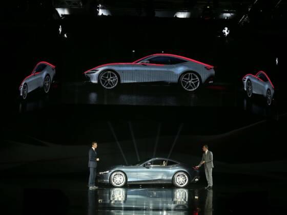 la ferrari ha appena presentato il suo nuovo coupe roma ed e uno storditore gara 560x420 - La Ferrari ha appena presentato il suo nuovo coupé Roma
