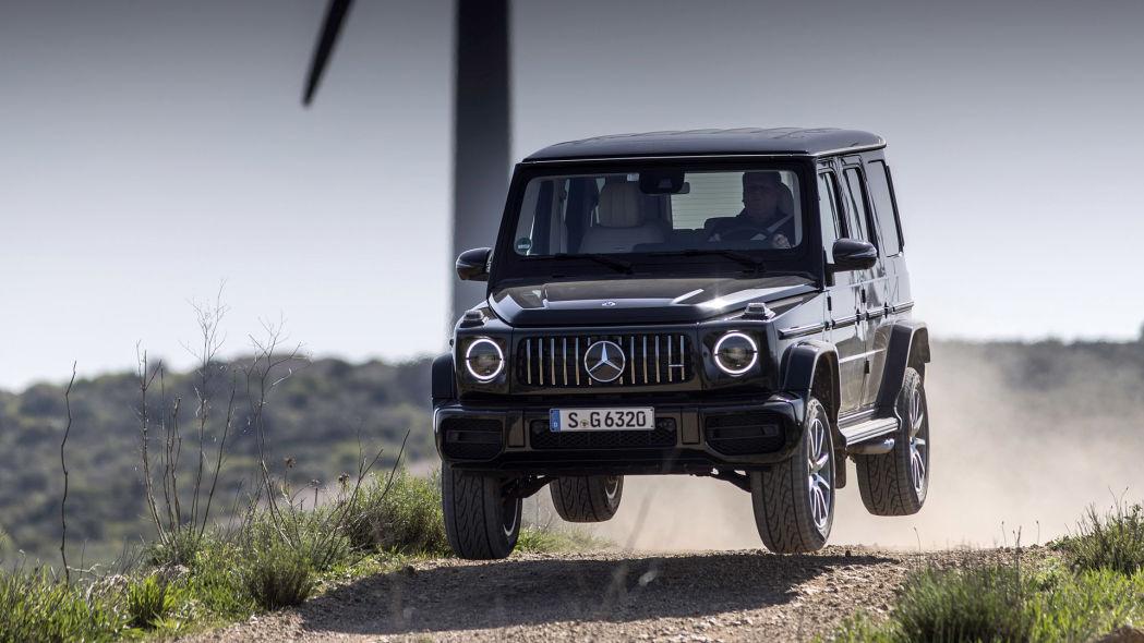 mercedes benz costruira un suv di classe g totalmente elettrica - Mercedes-Benz costruirà un SUV di classe G totalmente elettrico