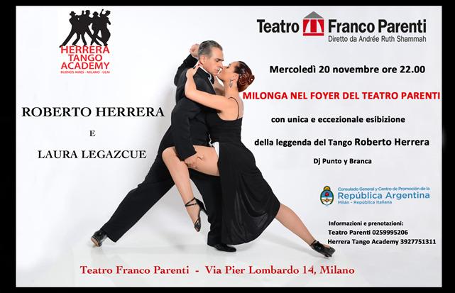 tango loc - HERRERA TANGO ACADEMY. LA CULTURA MILANESE INCONTRA IL TANGO IN MILONGA