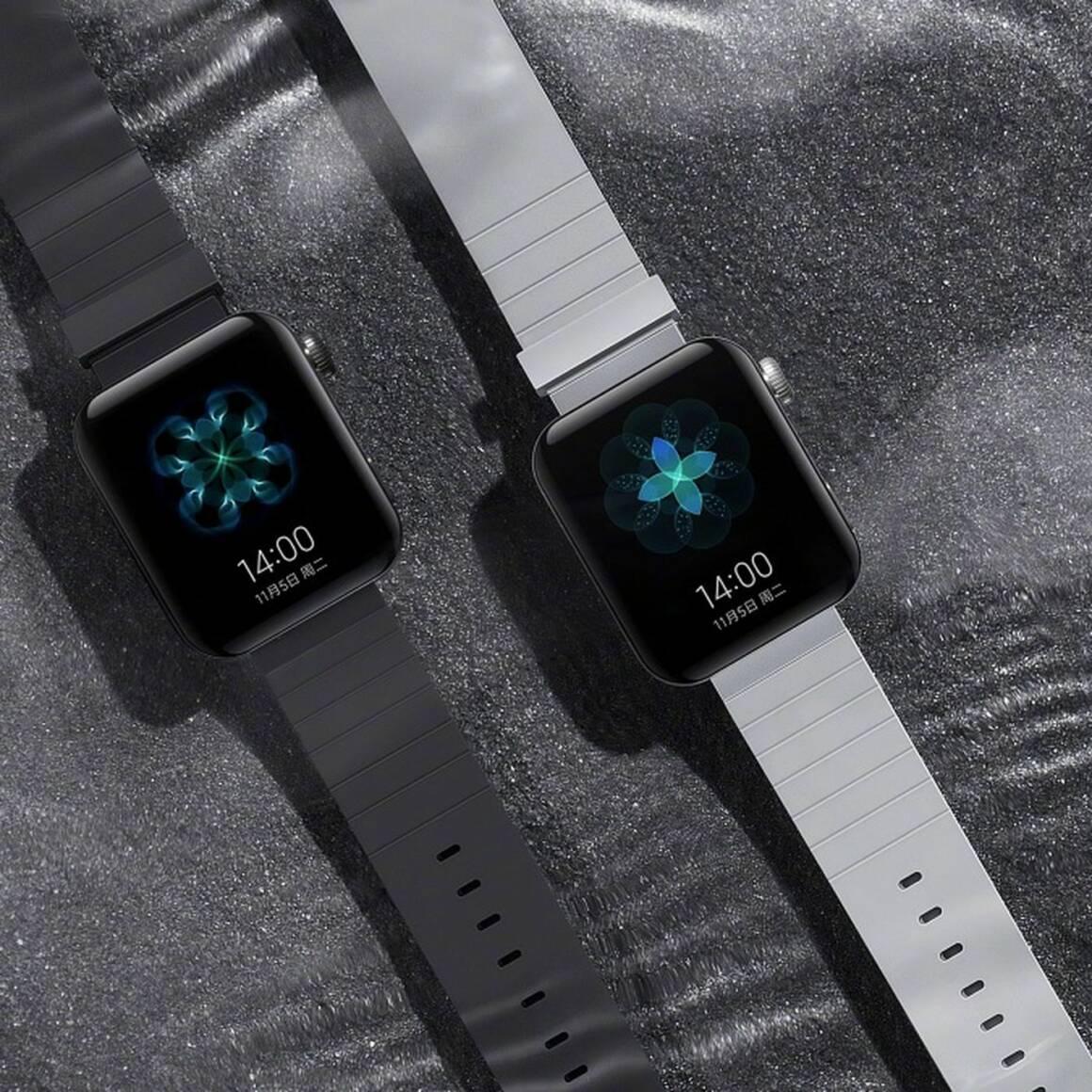 xiaomi lancia mi watch il clone copiato male da apple watch 1160x1160 - Xiaomi lancia Mi Watch il clone copiato (male) da Apple Watch?